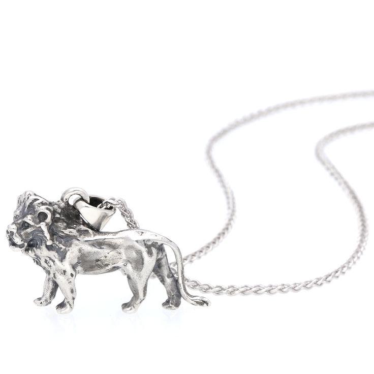 Silver Lion Pendant    www.uwekoetter.com