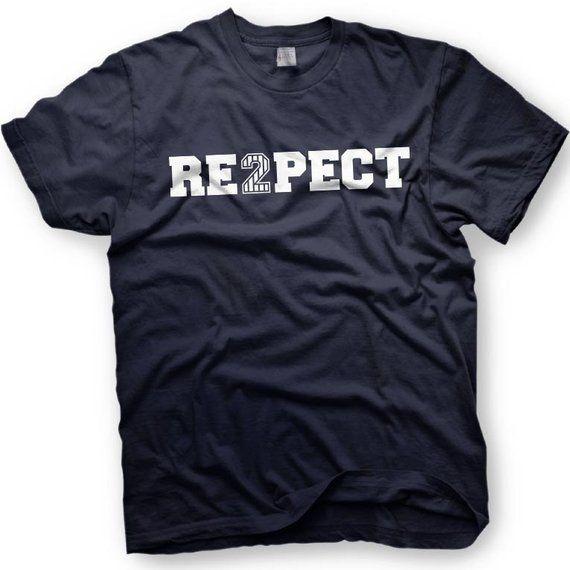 Derek Jeter Retirement -New York Yankees Captain - Re2pect T-Shirt - Respect   33621fc65