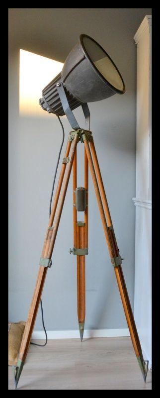 Ruige industriële Philips statief lamp | Industriële lampen | rikus75