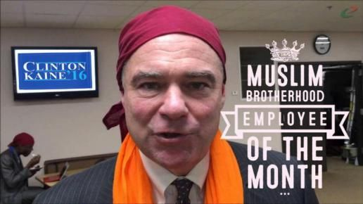 "Just How Cozy is Hillary's VP Pick Tim Kaine with Islamists - It seems Tim Kaine ""has a history of EMBRACING ISLAMISTS"" In 2007, Kaine, then governor of Virginia, appointed Esam Omeish to his state's Immigration Commission. READ ARTICLE...."