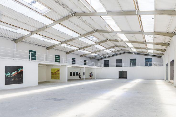 "Josè Yaque ""Gravedad"", installation view Galleria Continua, Les Moulins, June 2015. Photo credit: Oak Taylor-Smith."