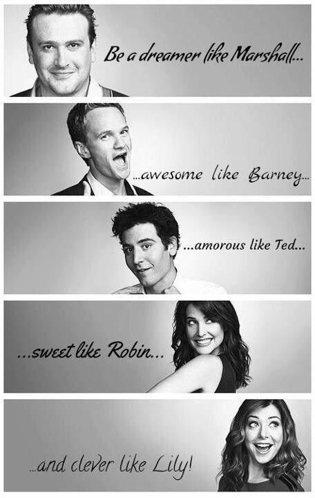 How I Met Your Mother Funny & enjoyable & at times emotional.... <3 love this show! Thanks to my hubby!! :)