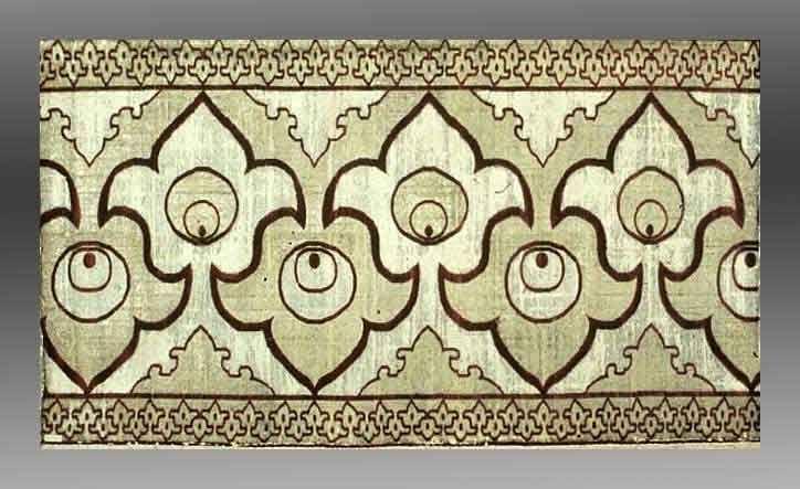 Velvet panel, Turkey 17th century. Museum of Fine Arts, Boston