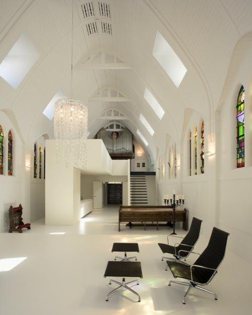 The Living Church Interior Design in Utrecht Netherlands by Zecc Architecten