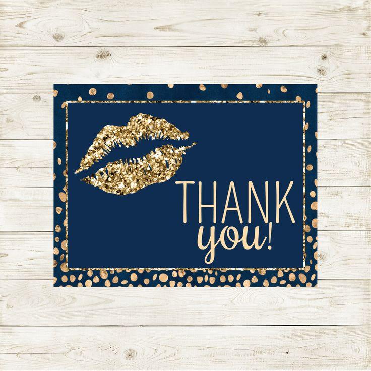 LipSense Thank You, LipSense, LipSense Distributor, LipSense Printable, LipSense Card, LipSense Distributor, LipSense Business, SeneGence by UnmeasuredBranding on Etsy