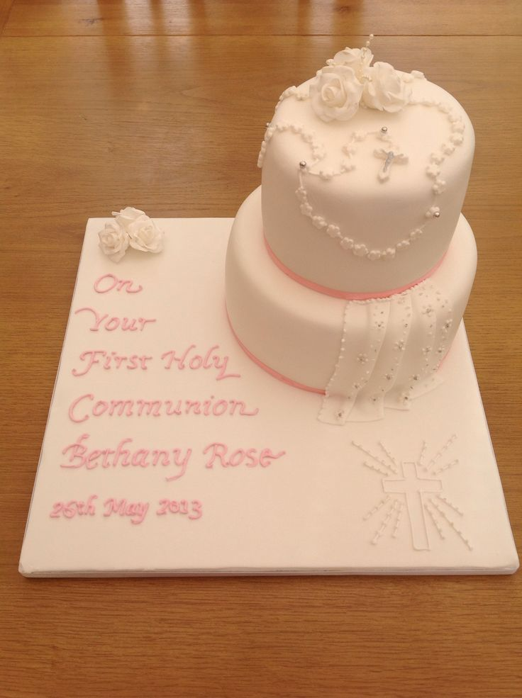 Cake Designs For Communion : 17 Best images about Cakes on Pinterest Communion ...