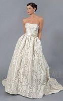 Regan - ajuar moderno (ballgown, vestidos nupciales, brocado, costura, marfil, vestido, vestidos, novia, vestido de bola, seda, vestido de novia, natural), archivos de imagen gratis - AzImage.com