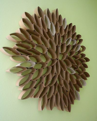Toilet Paper Roll Wall Hanging | Flickr - Photo Sharing!