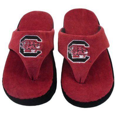 Happy Feet - South Carolina Gamecoks - Comfy Flop Slippers - XL Happy Feet. $16.99