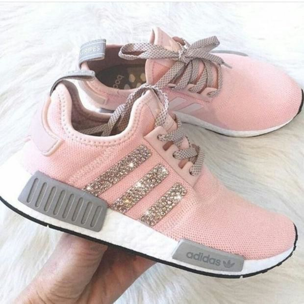 huge selection of ac61a 56e26 Adidas NMD Fashion Glittering Breathable Running Sports Shoes Sneakers