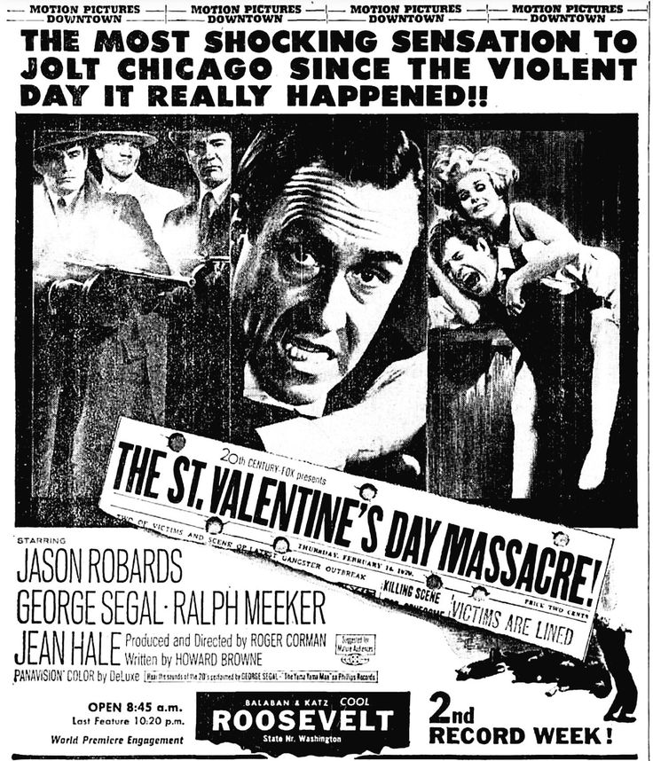 The St. Valentine's Day Massacre(1967)‬ ‪※7/7/1967,Chicago Tribune‬