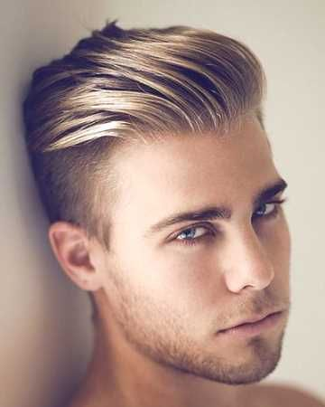 Mens Haircut Shaved Sides Long Top Http Www Gohairstyles