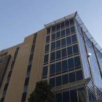 maqueta world trade center gibraltar. escala 1/100.