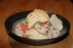 Cheesecake Factory Chicken and Biscuits - Crockpot copycat recipe.  Made this last night but adapted it for the stove top since I didn't have time for the crockpot.  Really tastes like CF!  Instant hit in my house and definitely going on the menu rotation.  YUM!