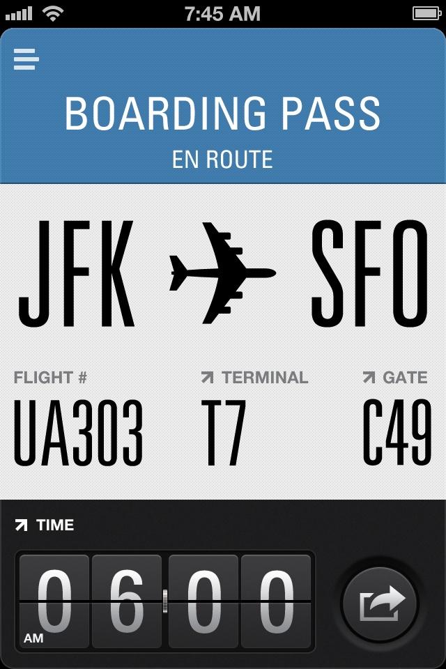 Flight Card « FreeOnAppStore #ios #app