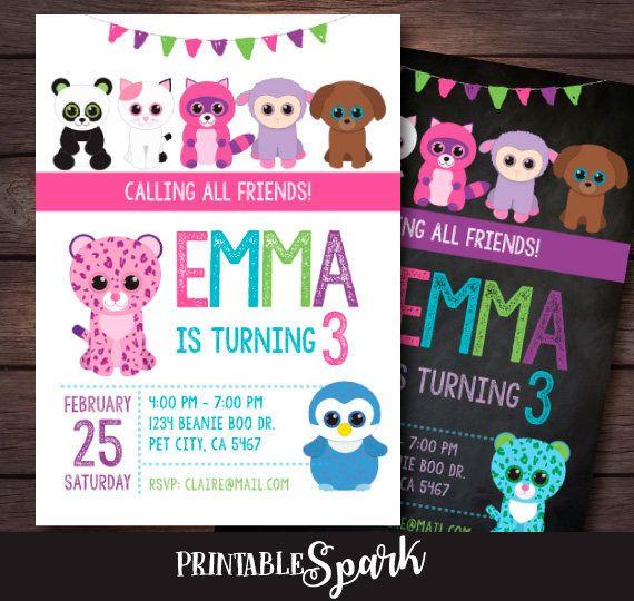 Hey, I found this really awesome Etsy listing at https://www.etsy.com/listing/516590410/beanie-boo-birthday-invitation-beanie