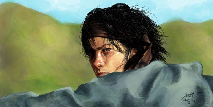 The Golden Cane Warrior by inezwandita on DeviantArt