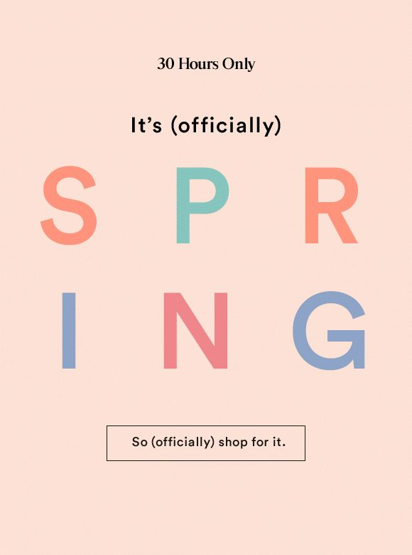 Ann Taylor - Spring Email