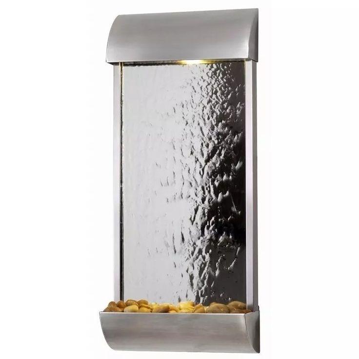 Fuente De Pared Acabado Espejo Importada Kenroy Home Water - $ 12,499.00 en…