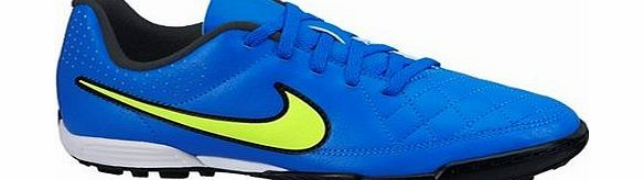 Nike Tiempo rio ii Astroturf Trainers - Kids Nike Tiempo Rio II Astroturf Trainers - Kids BlueCOMFORT AND TOUCHThe Nike Jr. Tiempo Rio II Kids Turf Football Boots are made with a soft synthetic upper for comfort and touch. The conical and blade http://www.comparestoreprices.co.uk/football-equipment/nike-tiempo-rio-ii-astroturf-trainers--kids.asp