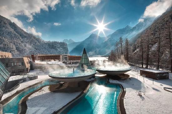 **Aqua Dome Tirol Therme Laengenfeld large indoor/outdoor thermal spa) - Laengenfeld, Austria