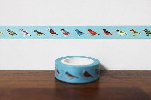 Maotu - paper tape (Taiwan bird)
