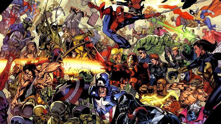 Marvel Ultimate Alliance (MUA) HD desktop wallpaper : Widescreen
