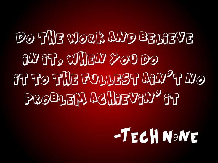 Tech N9ne Wallpaper   Tech N9ne Quote Xxx