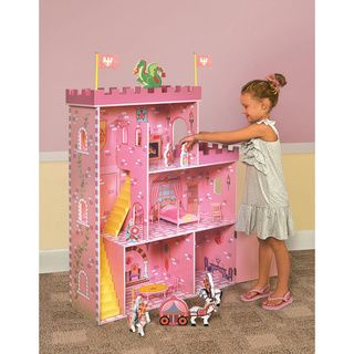 Fantasy Play Castle Doll House | Overstock.com Shopping - Great Deals on Badger Basket Dollhouses