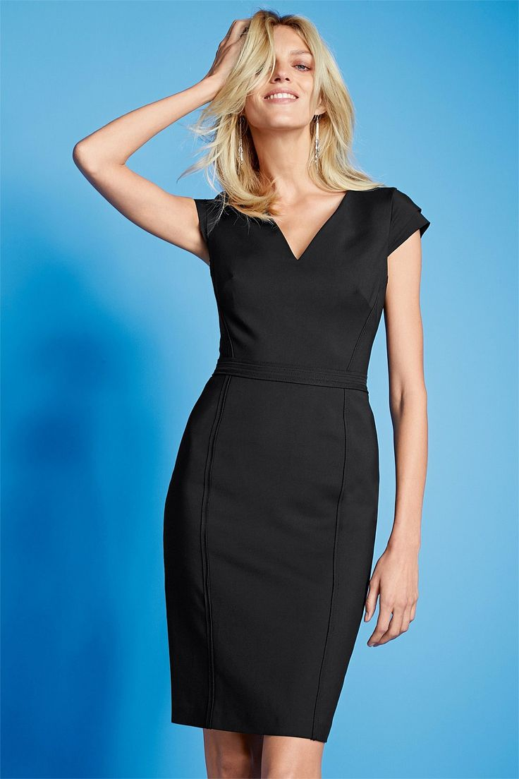 Black dress next - Next Black Ultimate Dress Petite Ezibuy Australia Thebrandstore Blackandwhite