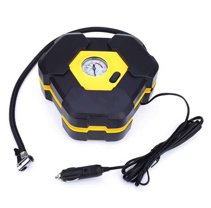Portable 12V Car Auto Electric Air Compressor