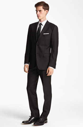 Zegna Trim Fit Herringbone Suit | Nordstrom
