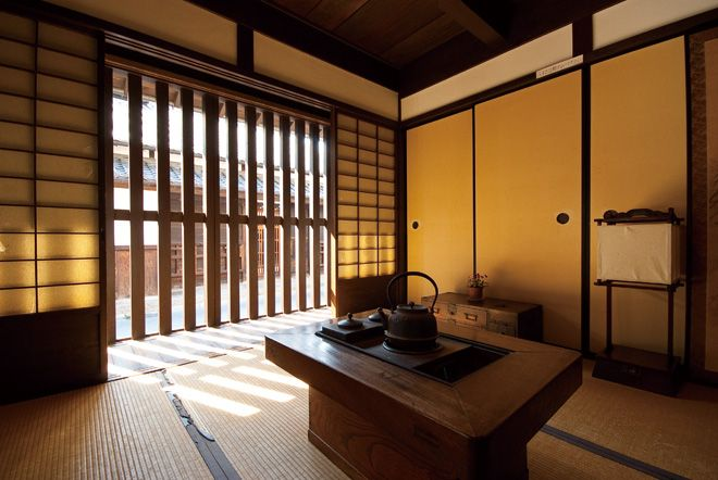 "Nara-machi ""Latticework"" house, a traditional ""Machiya"" townhouse. Nara, Japan."