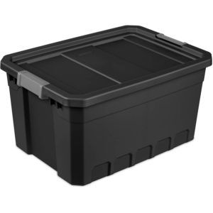 Black Stackable Storage Boxes
