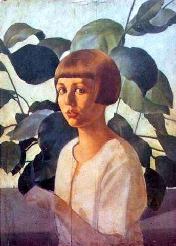 Felice Casorati (1883 – 1963, Italian) « I AM A CHILD (children in art history)