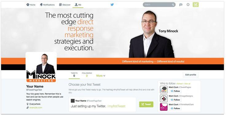 Minock Marketing Custom Facebook Cover Design - by TweetPages.com #TweetPages