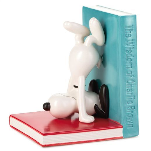 Peanuts®  Snoopy Ceramic Bookend