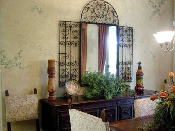A Gorgeous Wall Mirror For The Dining Room Dining Room