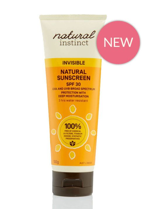 Natural Instinct Natural Sunscreen Invisible 200g SPF 30 - Natural Instinct