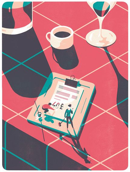 Tom Haugomat - For Protein magazine Tiphaine-illustration