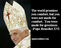 """""""The world promises you comfort, but you were not made for comfort. You were made for greatness."""""""