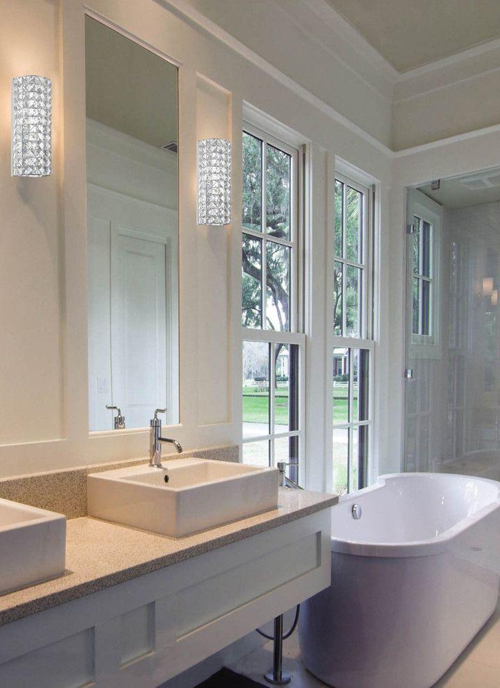 Bathroom Wall Sconces, Contemporary Bathroom Sconces