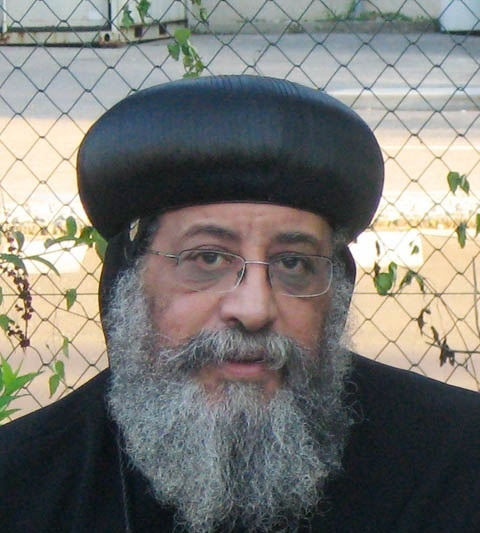 Pope Bishop Tawadros... Egypt's New Coptic Religious Leader.