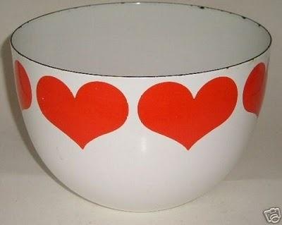 Finel enamel bowl