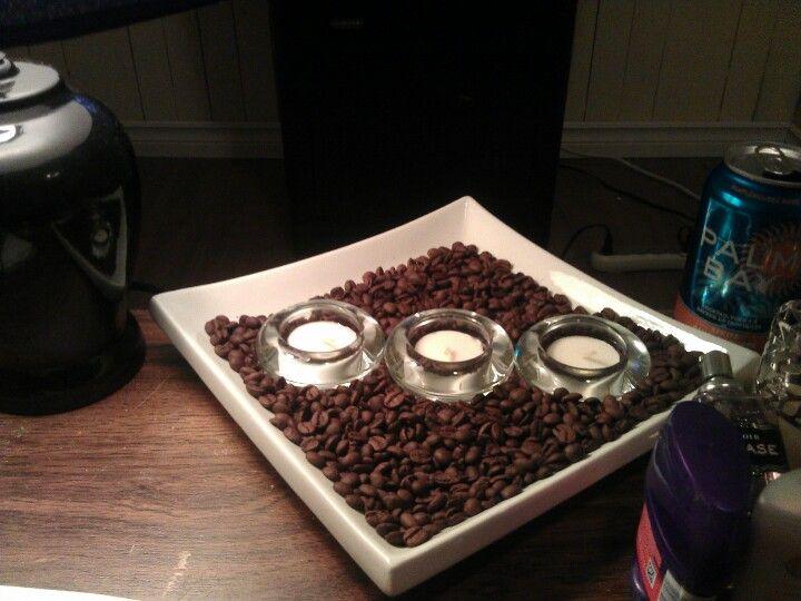 Coffee bean decor!