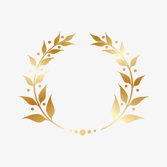 Golden Laurel Wreath Gold Golden Wreath Gold Laurel Png Transparent Clipart Image And Psd File For Free Download Wreath Illustration Abstract Digital Art Laurel Wreath