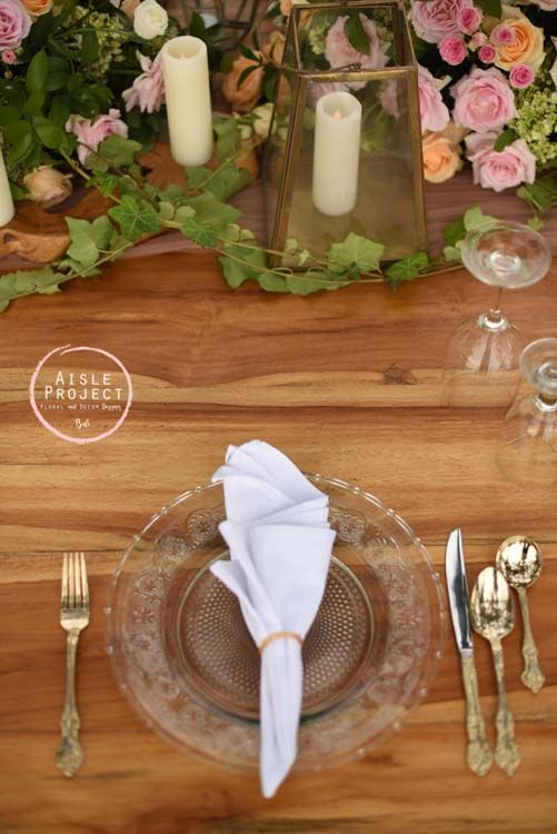 Gold Cutleries, Charger Plates, Gold Glass Lanterns, Wood Table, Bridal Table, Head Table, Crossback Chairs, Bali Wedding with gorgeous setup, Lush Wedding, Magical Bali Wedding, Luxury Bali Wedding, Khayangan Estate, Aisle Project Bali