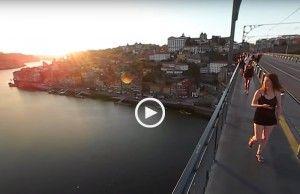 As vistas da Ponte D. Luís em 360º!