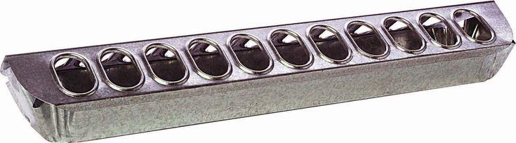 Miller Mfg Co Inc P-Little Gian Galv Slide Top Feeder For Poultry- Steel 24 Inch