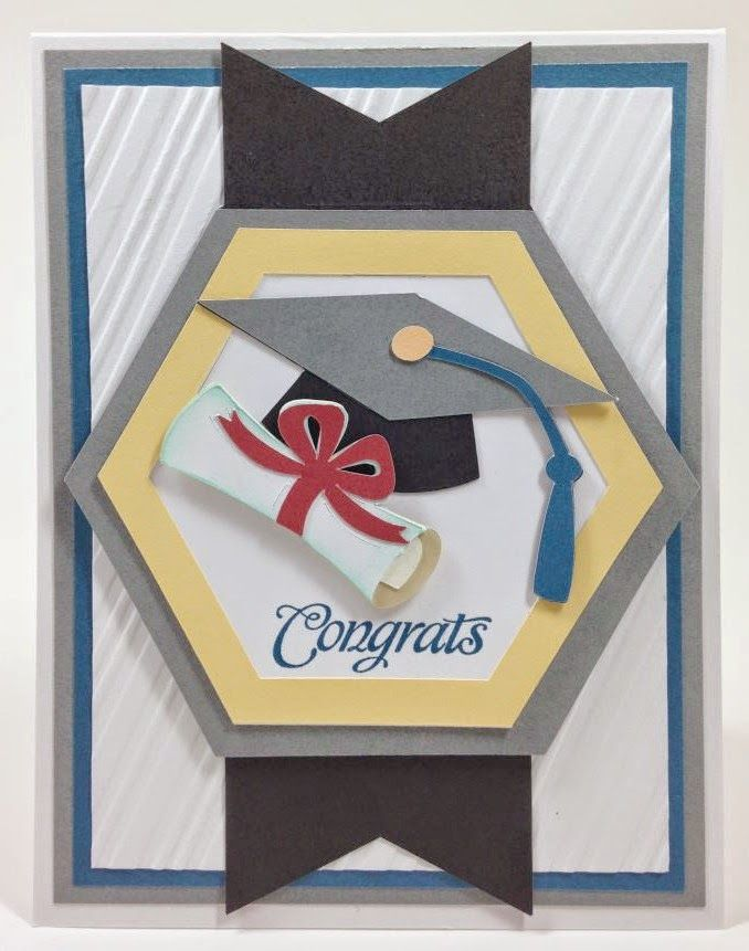 Cricut Recess Graduation Card